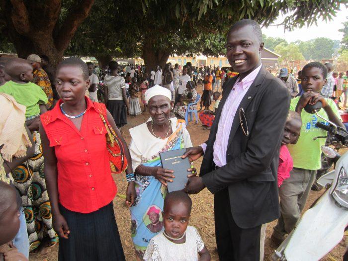 Baka Bible Dedication with SIL in Maridi, South Sudan - MAF